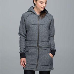 Lululemon long and short of it jacket
